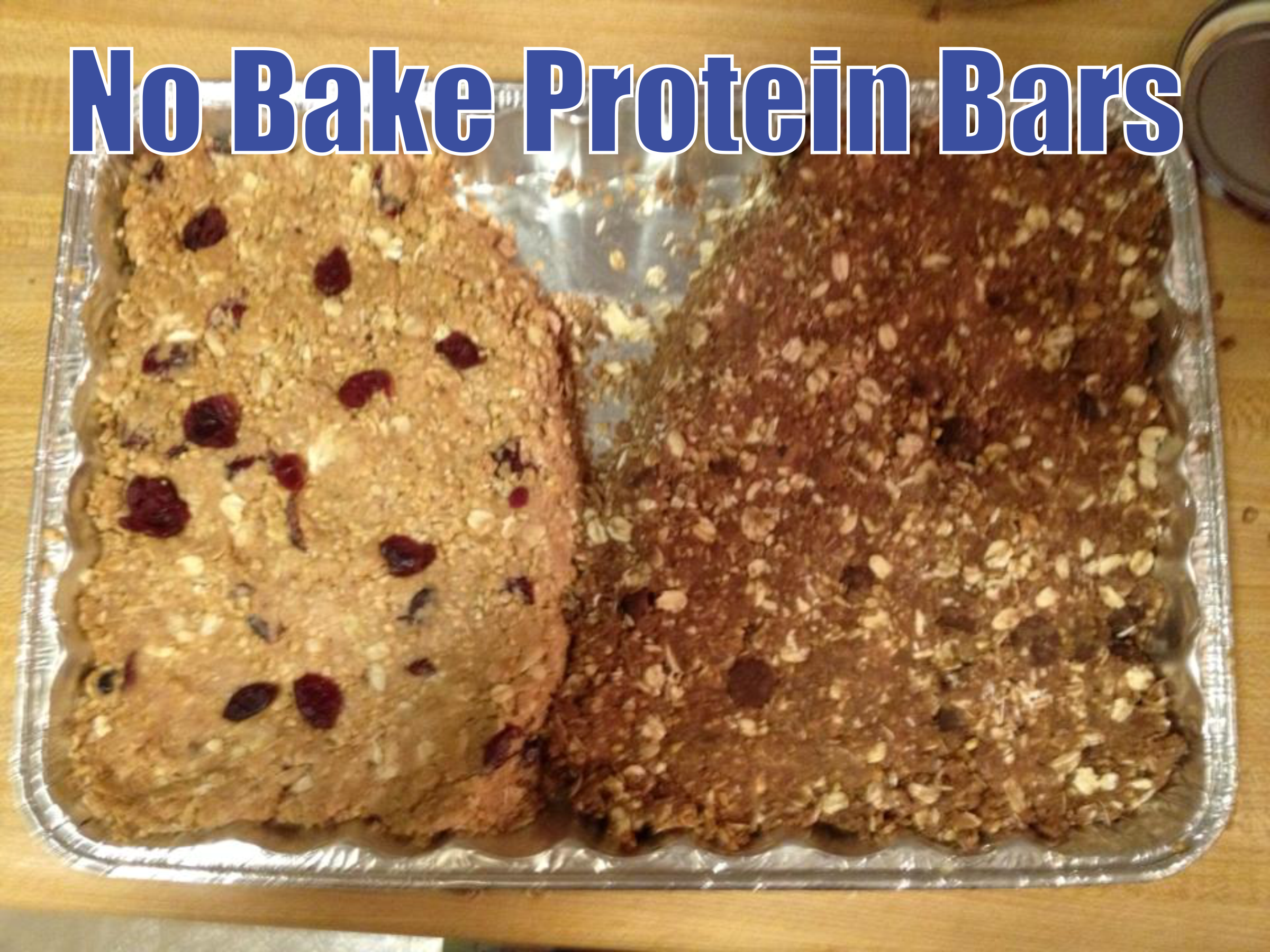 No Bake Protein Bars