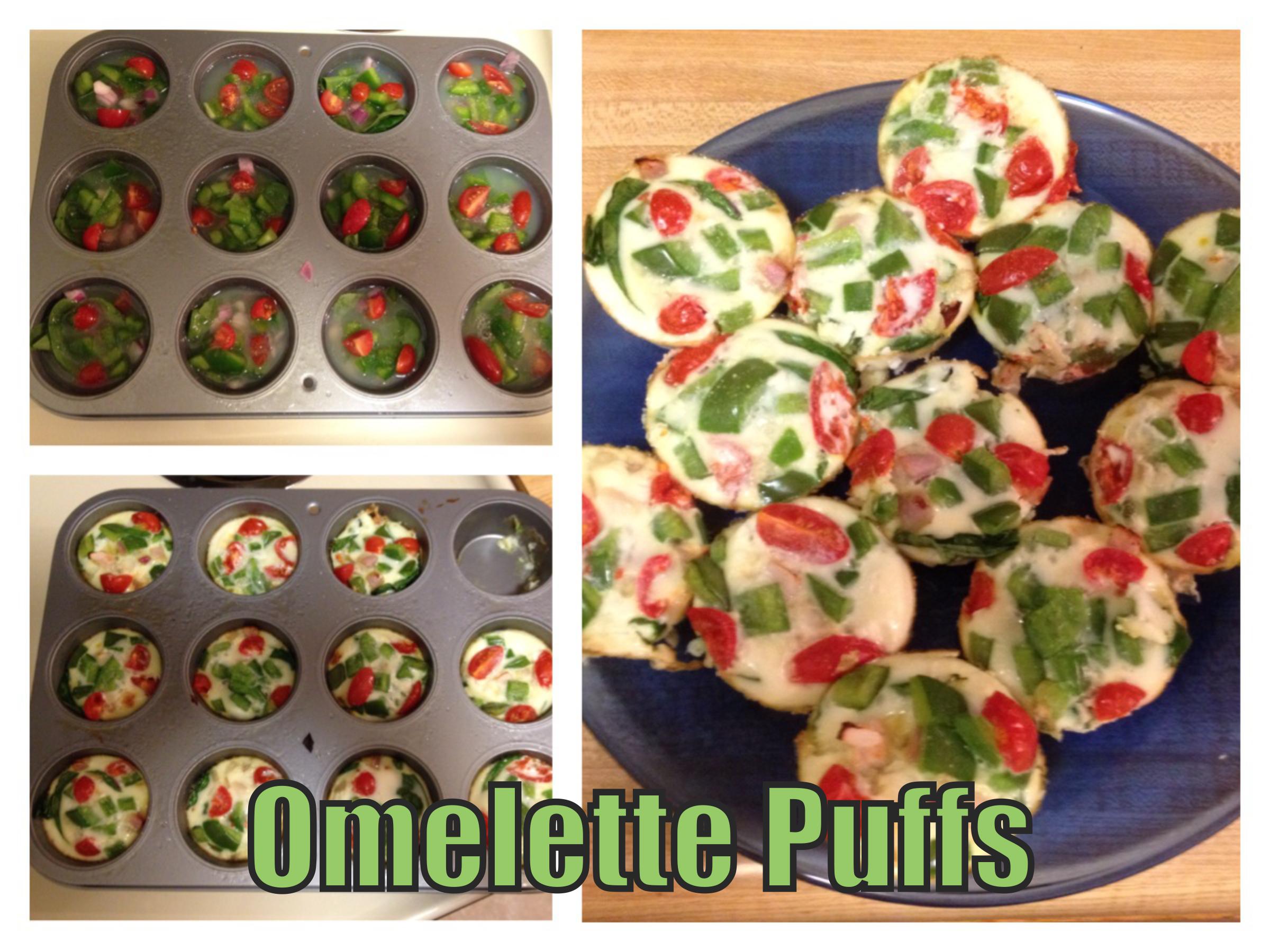 Recipe - Omelette Puffs