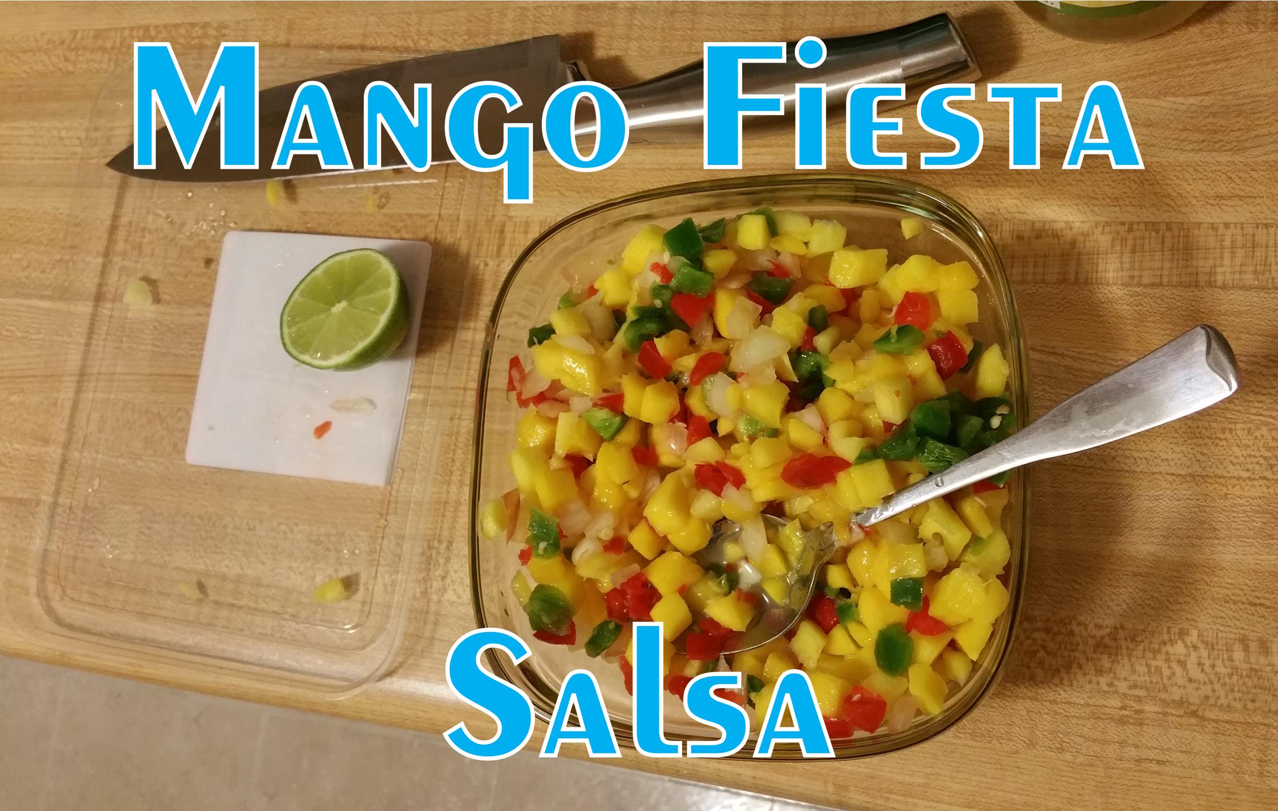 Mango Fiesta Salsa